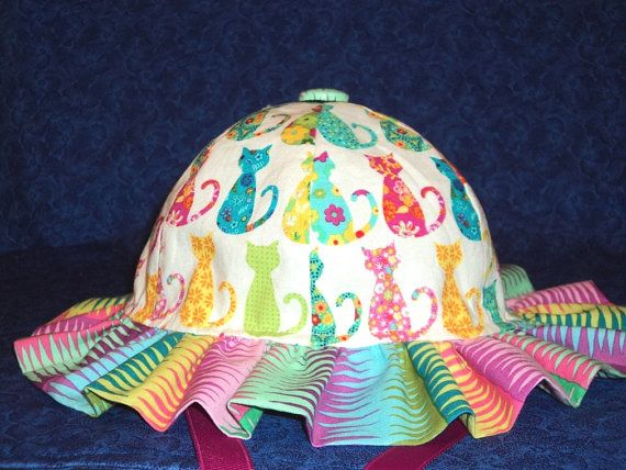 Adorableandcute makes the modern baby bonnet fun! Sunhats and bonnets in wonderful colors and patterns. Love this...