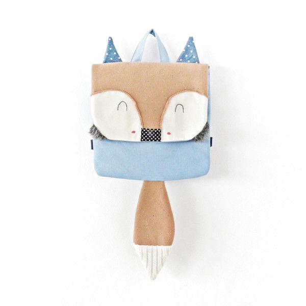 Kindertaschen - Rucksack Little Fox - ein Designerstück von Lady-Stump bei D ..., #bei #Designerstück #ein #Fox #Kindertaschen #LadyStump #Rucksack #von
