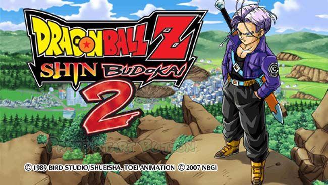 Dragon Ball Z Shin Budokai 2 Another Road Psp Iso Usa With
