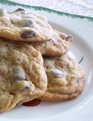 For Love of the Table: Ina Garten's Peanut Butter Chocolate Chip Cookies
