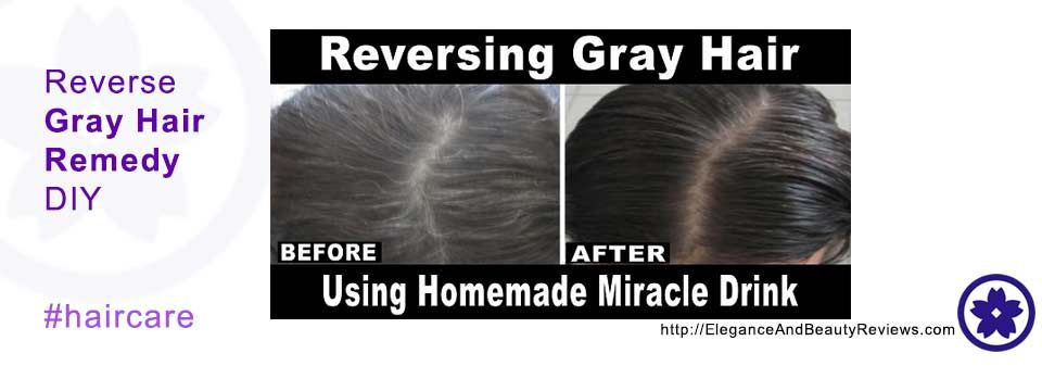 How To Turn Grey Hair Back To Black Naturally