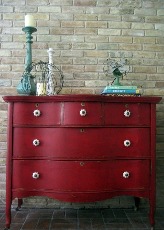 Winners  The Painted furniture co-- kara\u0027s dresser Meubles - Repeindre Un Meuble Vernis En Bois