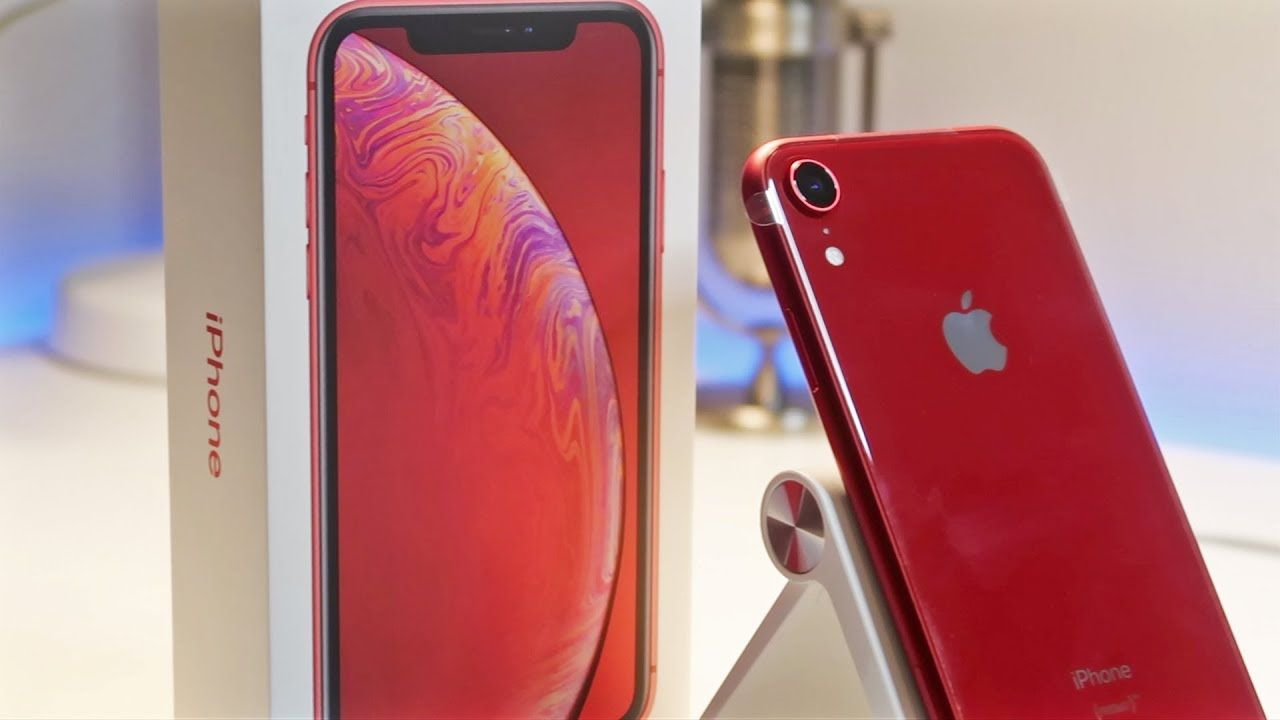 Iphone Xr Red Unboxing Iphone Unboxing Repair Videos
