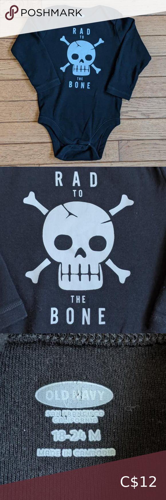 Rad to the Bone Onesie