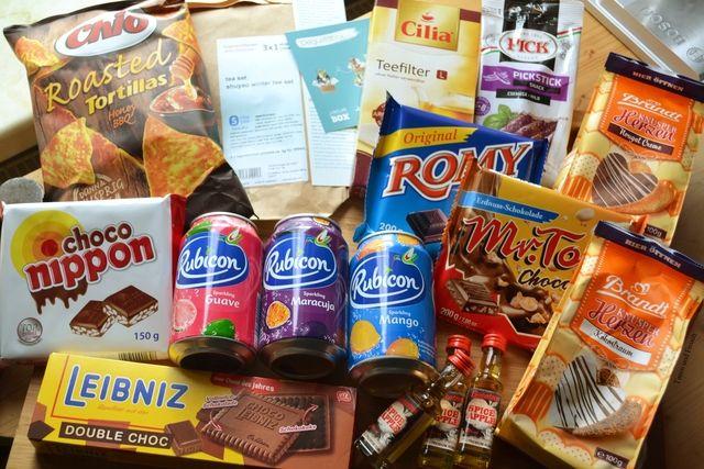 Testen und Freuen: Degustabox Januar 2016: So viel Süßkram!