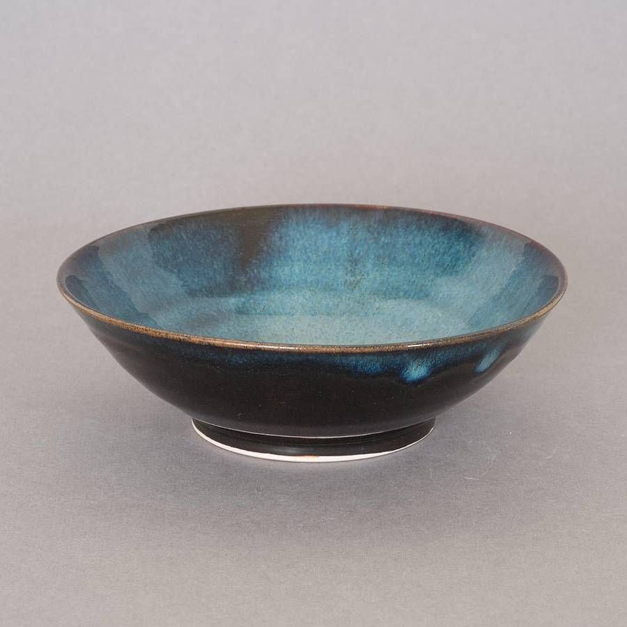 Pair Of Small Blue Bowls from notonthehighstreet.com