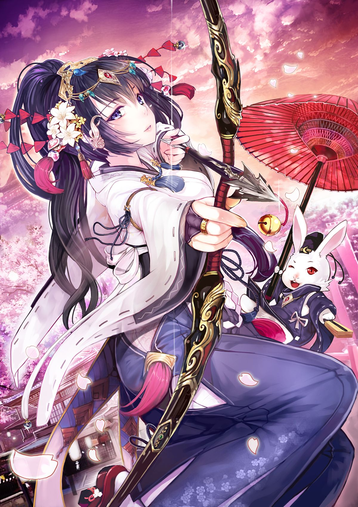 Weapons elliott anime anime art beautiful anime girl - Anime girl with weapon ...