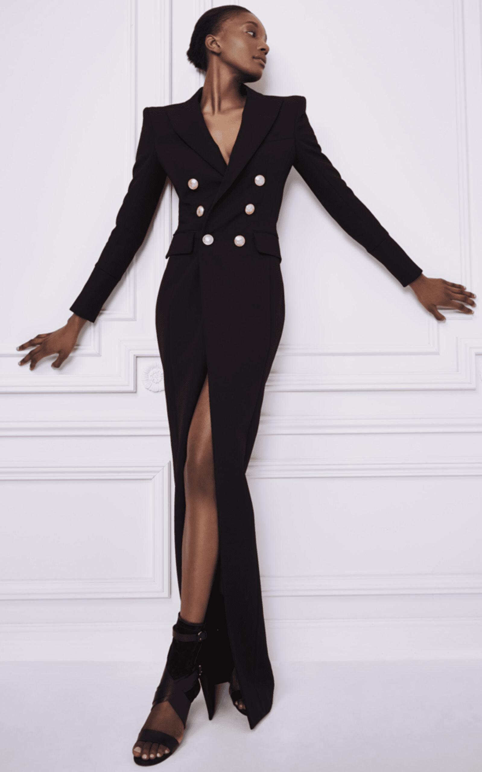 Clair Black Blazer Maxi Dress In 2021 Fashion Elegant Black Dress Dresses [ 2560 x 1598 Pixel ]