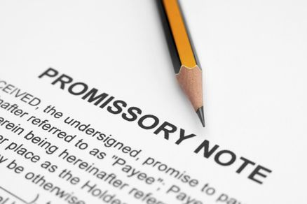 Writing A Simple Promissory Note For Car With Sample Promissory Note Notes Writing