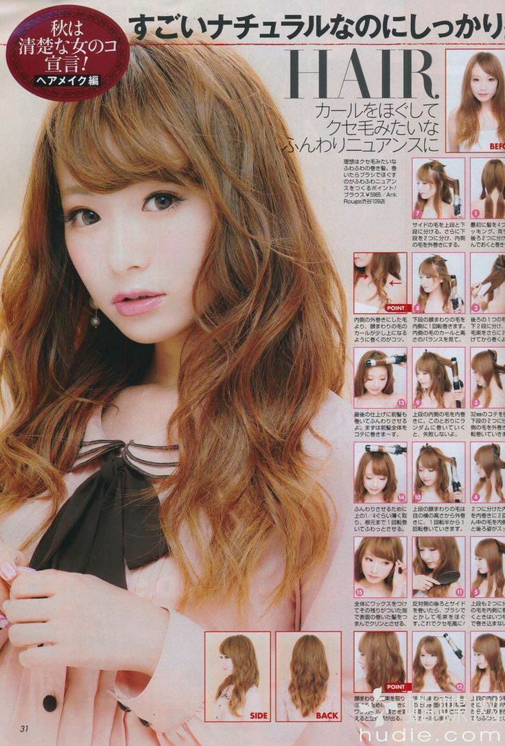 Perfect Japanese Waves Hairstyle 3 Hairstyles