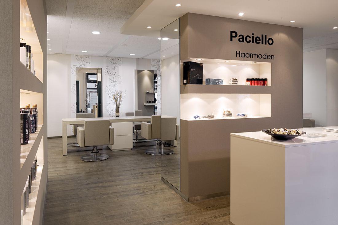 Hair beauty salon furniture for Salon blueprint maker