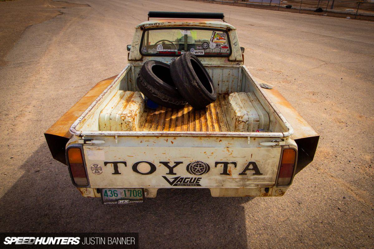 The Turbo V8 Frankenstein Hilux | Eugene Idea's | Engine swap, Ls