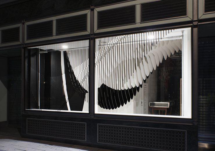 Aqua at Dover Street Market, London, 2012 by Zaha Hadid #architecture #installatione #olympicsgames #london2012