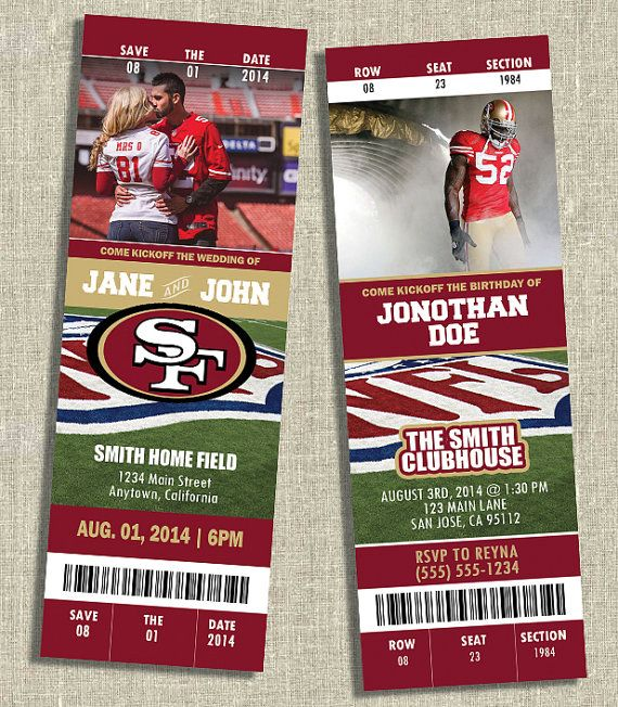 Any Occasion, Team or Sport; NFL, NBA, College, etc. - Ticket ...