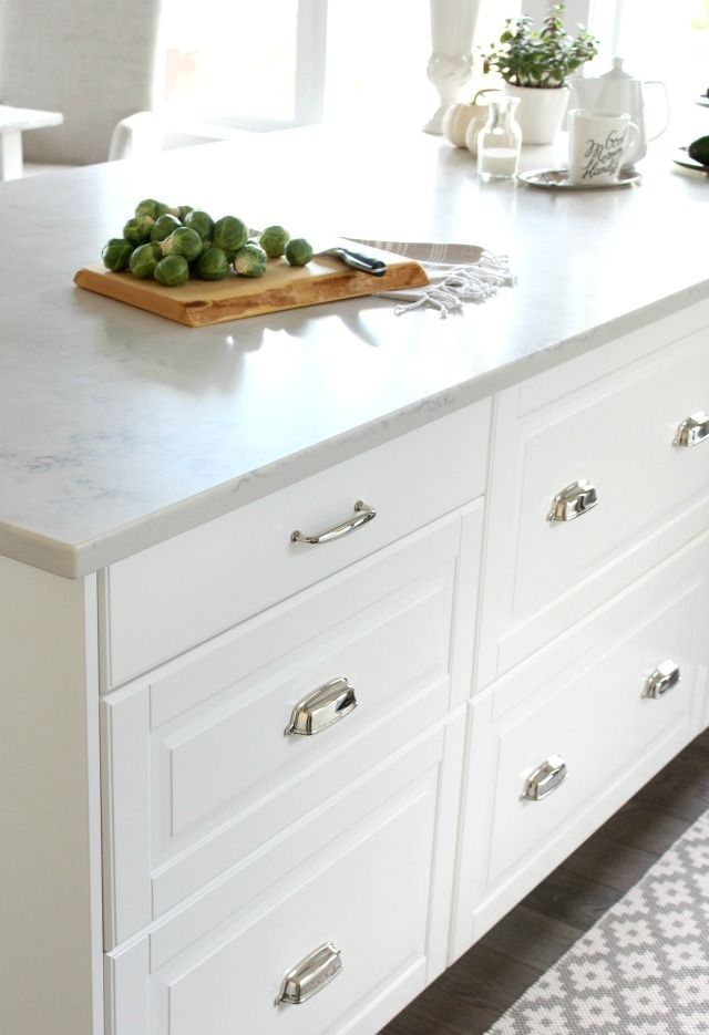 ikea kitchen island with drawers canadian fall home tour white ikea kitchen countertop 24371