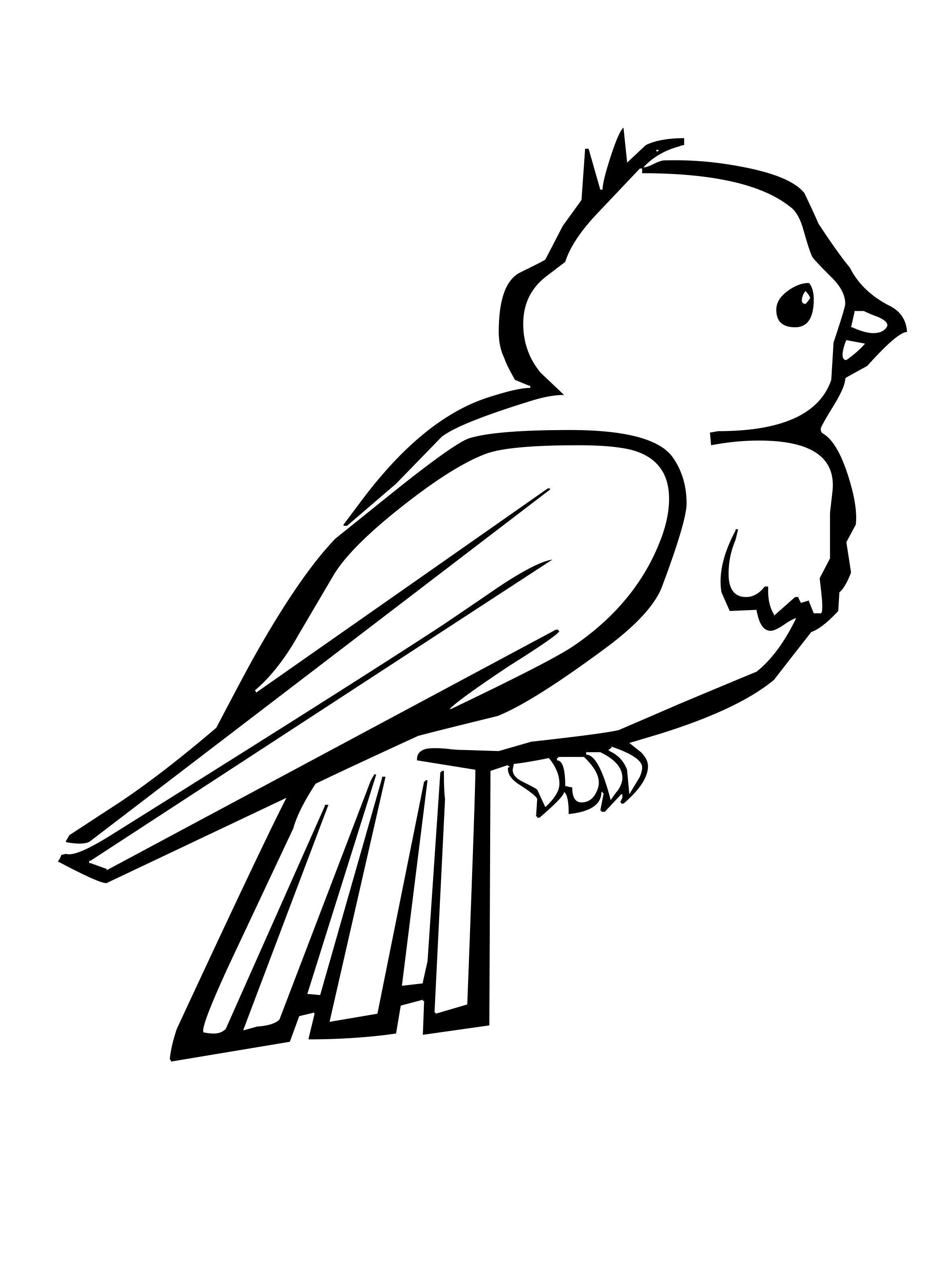 Small Birds Are Cute And Attractive Coloring Pages With Images