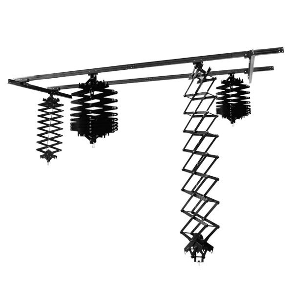Photography Studio Ceiling Track System Premium Pantograph Rail System |  LS Photo Studio