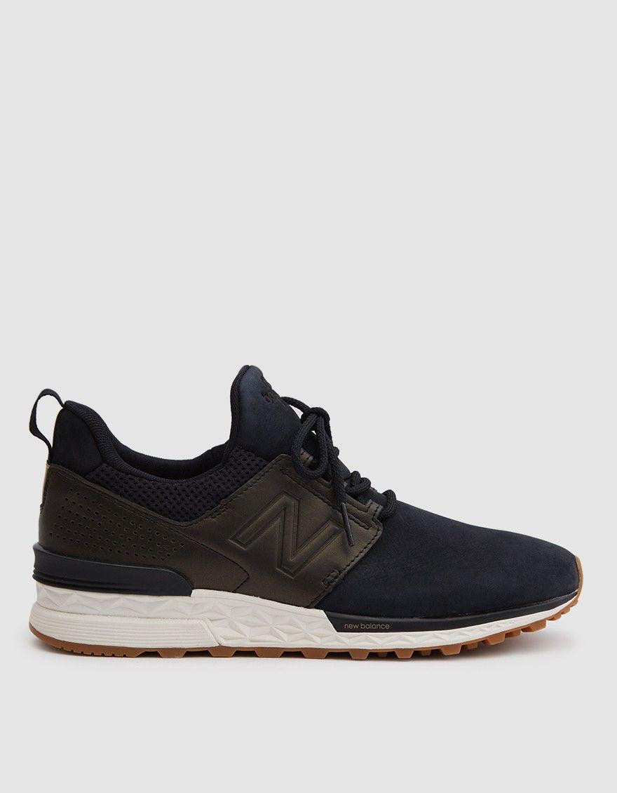 Shoes 2018 In 574s Heart I Nubuck Balance Blackgold New xw1OfWq48W