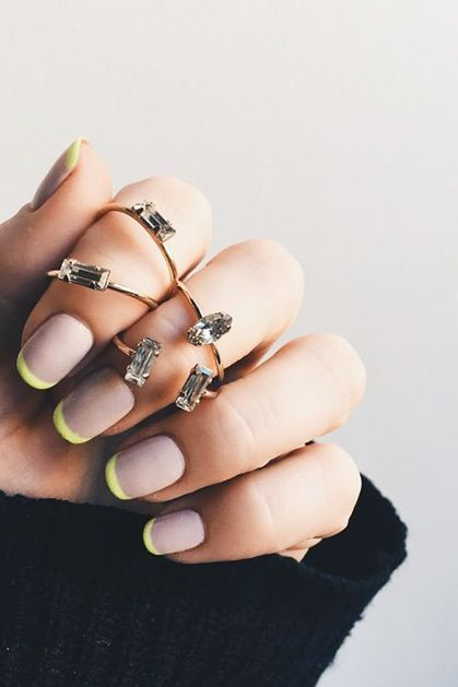 Nail Designs For Spring French Tips With Pictures Pinterest Nice