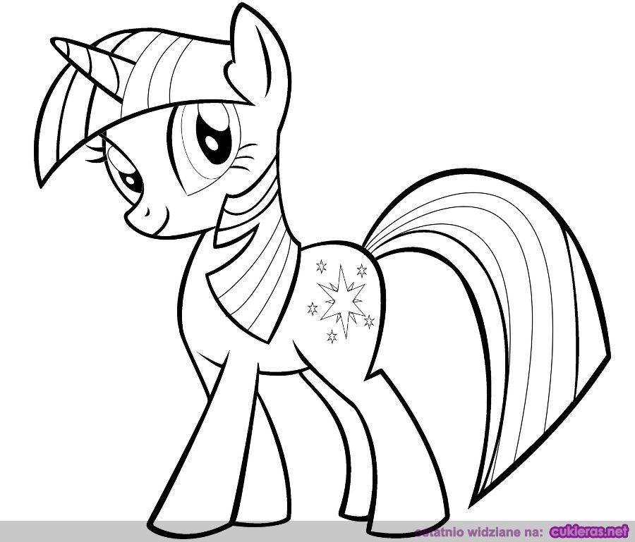 My Little Pony Przyjaźń To Magia Kolorowanki Do Wydruku Koniki