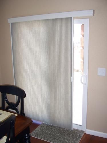 Sliding Patio Door Window Treatments Modern