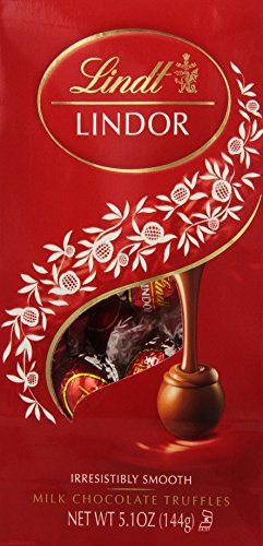 Lindt LINDOR Milk Chocolate Truffles, 5.1oz (Pack of 6) - http://bestchocolateshop.com/lindt-lindor-milk-chocolate-truffles-5-1oz-pack-of-6/