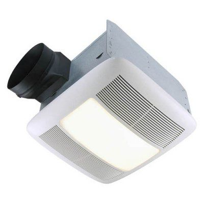 broan-nutone qtxen150flt ultra silent bathroom fan / light / night
