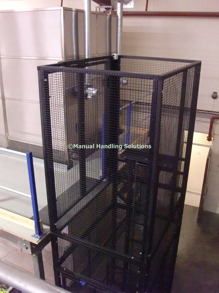 Mezzanine Goods Lifts For a quotation please contact; Manual - website quotation