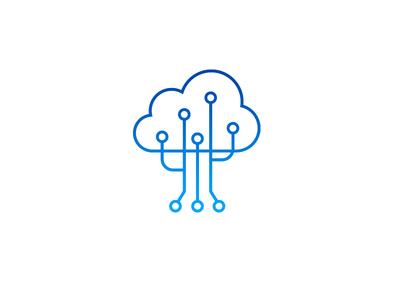 Tree Cloud Logo Logo Design Minimal Logo Design Data Logo