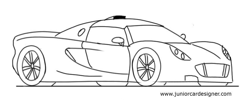 Draw a Hennessey Venom GT | Automobiles and Machinery ...