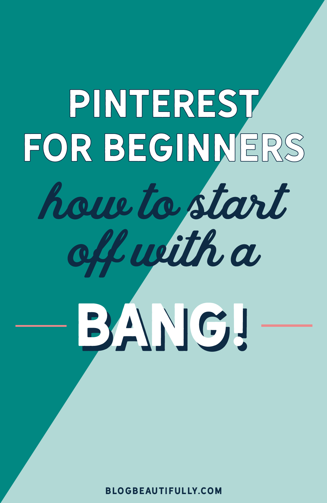 Start your Pinterest account with a BANG!! Use these 12 action items for Pinterest beginners to get the ball rolling!