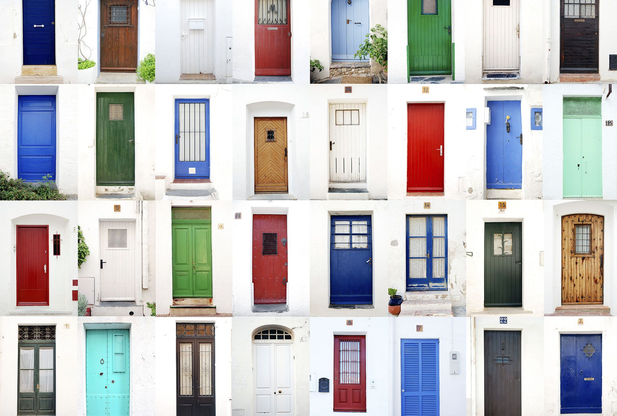 Your front door color reveals more about you than youd think thinking about freshening up your front door you probably know that its crucial to boosting rubansaba