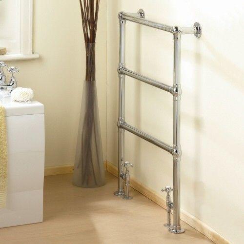 Countess Traditional Hydronic Heated Towel Warmer 37 Inch X 26 Inch Calentador De Toallas Toallero Radiador Toallero
