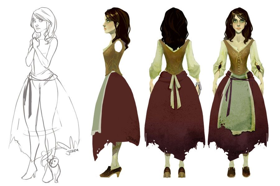 Another scary game girl turnaround by angerkitty on