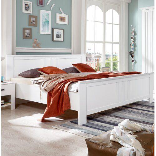 Schlittenbett Castell, 180 x 200 cm Wimex Farbe Weiß