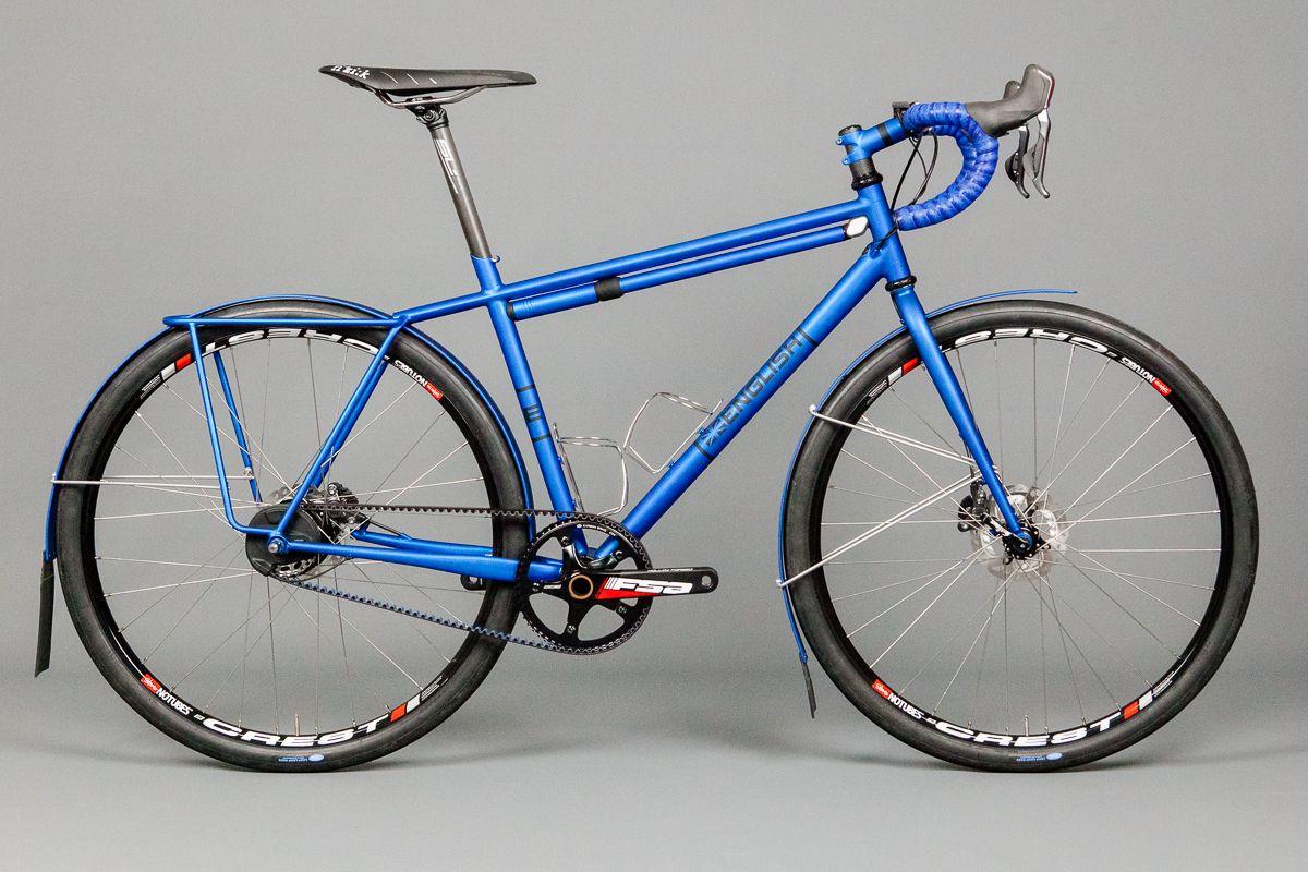 Bike English Cycles Winter Bike Alfine Gates Di2 Bici