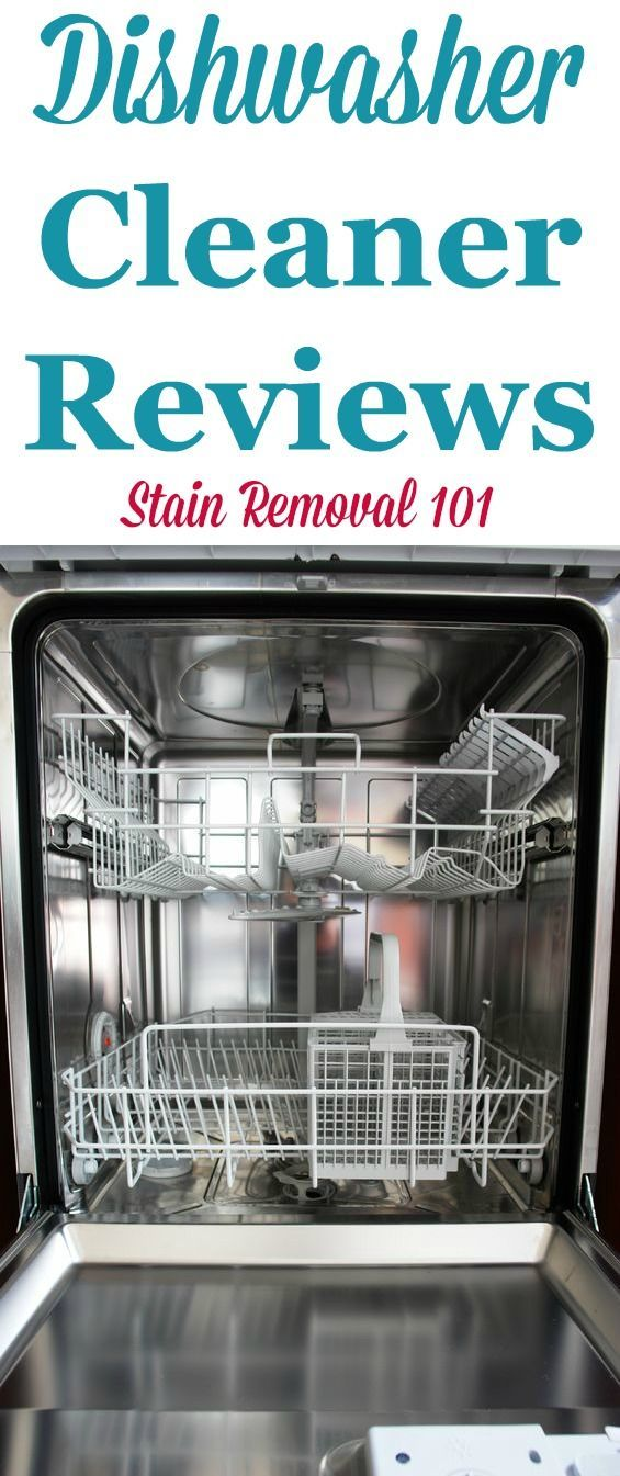 Here are dishwasher cleaners reviews of various brands so you can ...