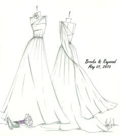 Pin By Laugh Forever On Sketch Dresses Wedding Dress Sketches Wedding Dress Drawings Dress Sketches