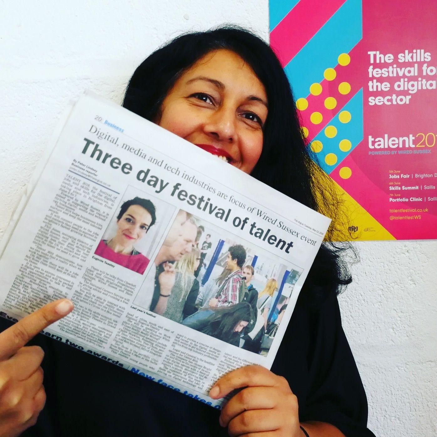 www.talentfestival.co.uk Digital media, Digital, Book cover