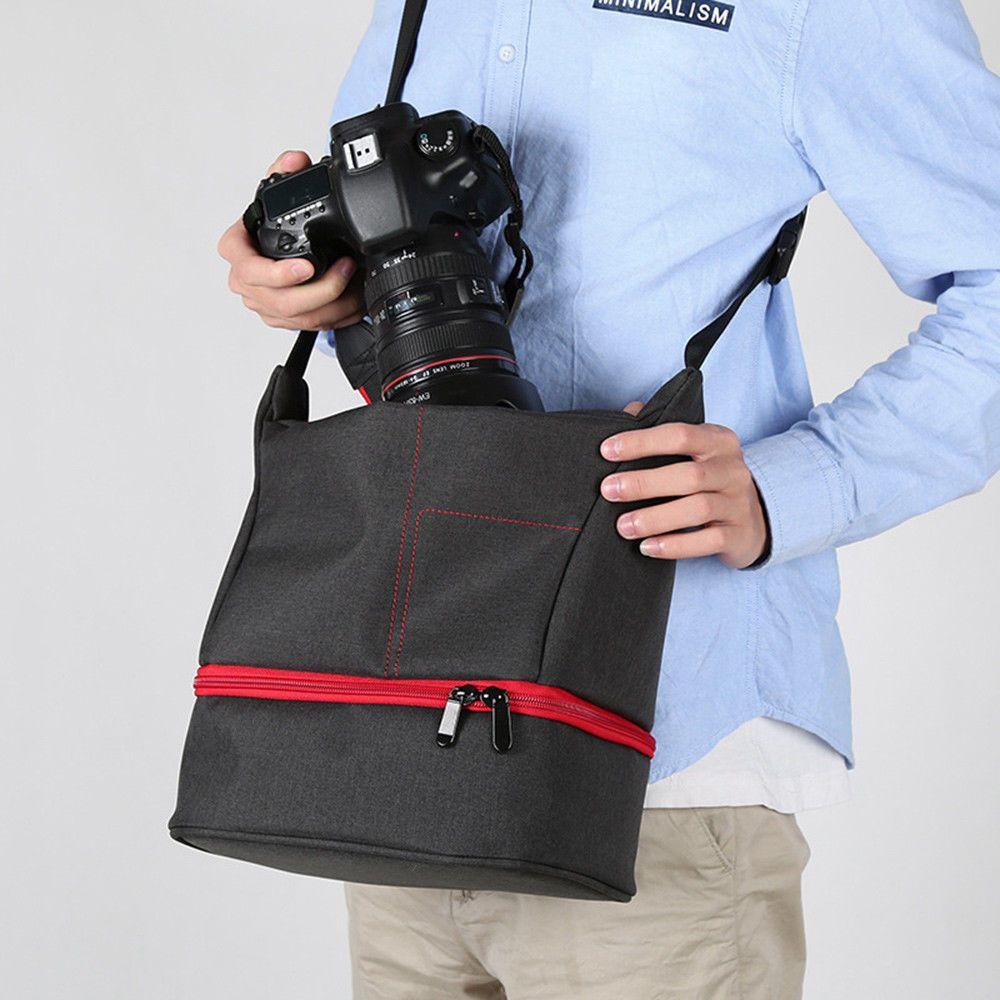 Cool Waterproof SLR DSLR Camera Shoulder Bag Outdoor Travel