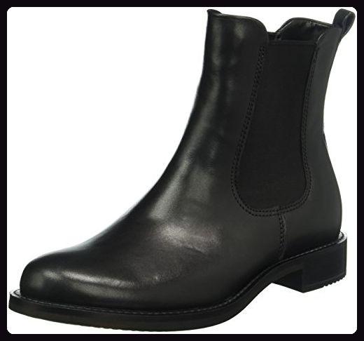 Ecco Damen Shape 25 Chelsea Boots, Schwarz (BLACK1001), 38