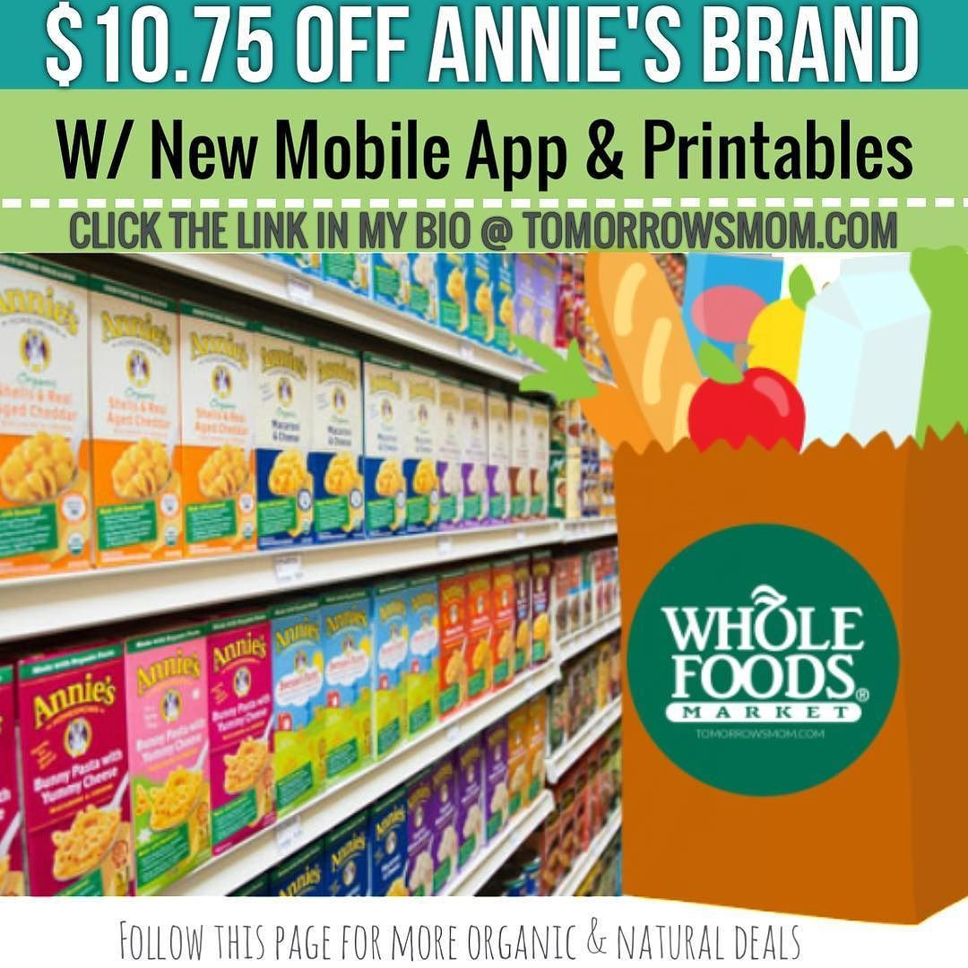 Whole Foods Mobile Coupon Plus Printables Plus Sale Go To Link