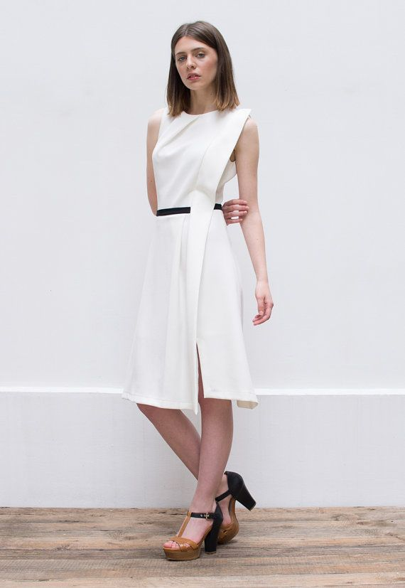 minimalista de blanco Oferta vestido y vestido de formal 30 corto con minimalista cóctel descuento minimalista boho RAxAZq0wT