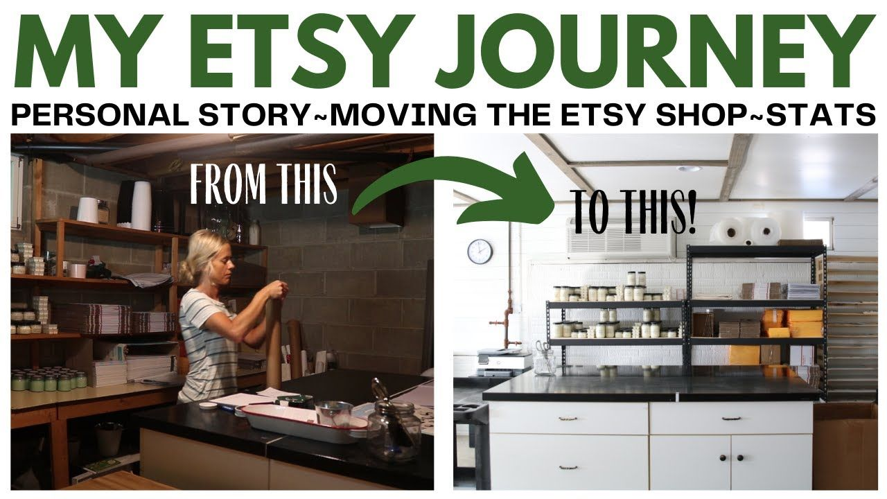 Etsy Journey Video ~ Sharing My Etsy Shop Story ~