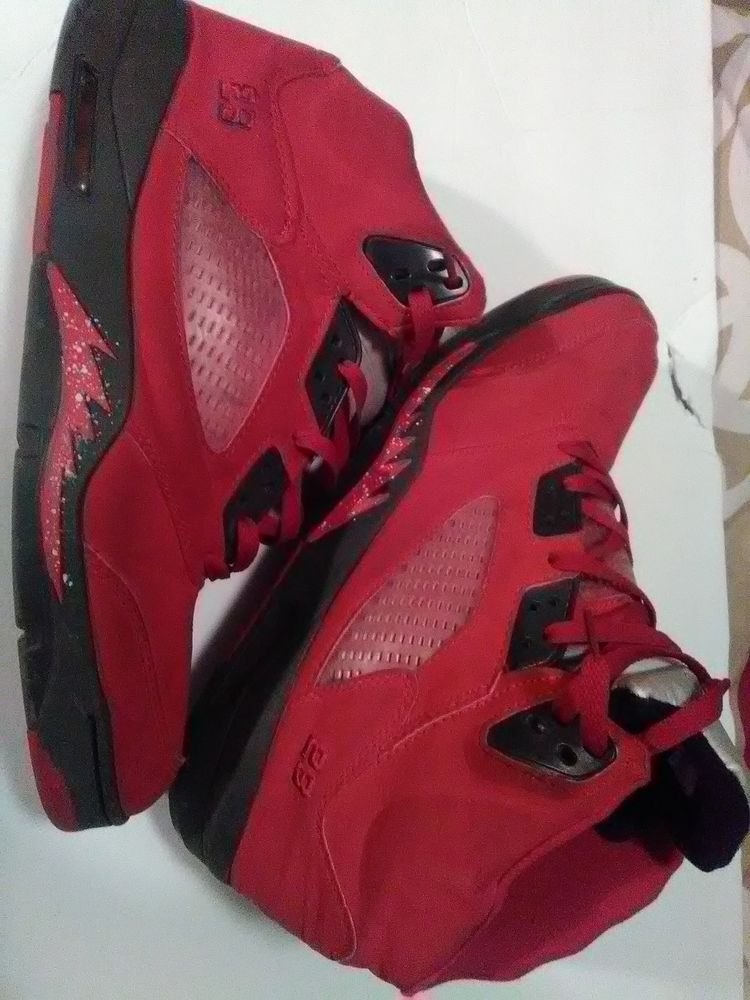 d3c0fb59f3baca Men s NIKE - Air Jordan 5 Retro V Flight Suit RED Suede - (Men Size 13)   fashion  clothing  shoes  accessories  mensshoes  athleticshoes (ebay link)