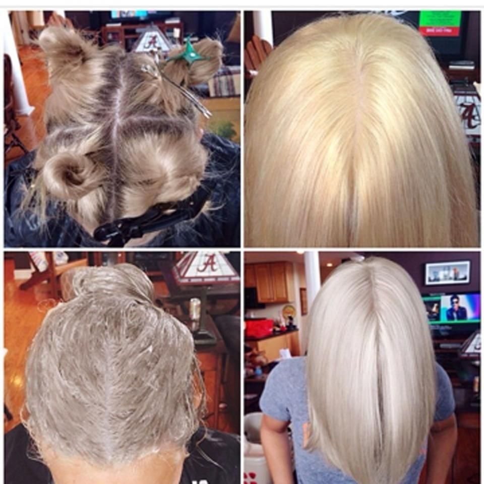 How To From Golden To Icy Blonde Hair Styles Icy Blonde Hair