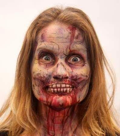 Laskiga Halloween Sminkningar.Varfor Inte Ga All In Pa Sminket Pa Halloween Festen Spana