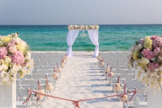 Destin Beach Wedding Packages Florida Beach Weddings Panama City Beach Wedding Packages Beach Wedding Aisles Wedding Venues Beach