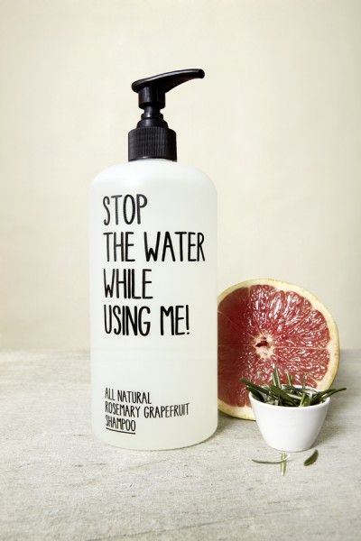 handwritten-with-a-sharpie typography on pump-action bottle (bonus points for grapefruit). but with that name, more than one could get obnoxious, maybe? (HT ponster jennifer hagler)