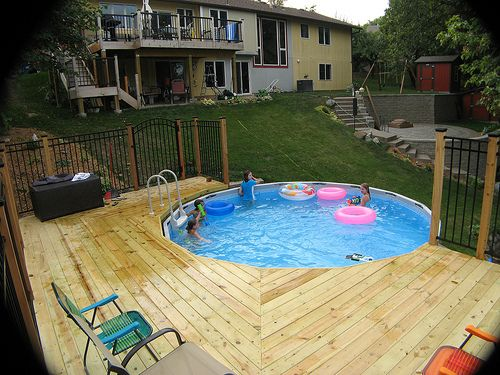 1000  ideas about installation piscine hors sol on pinterest ...